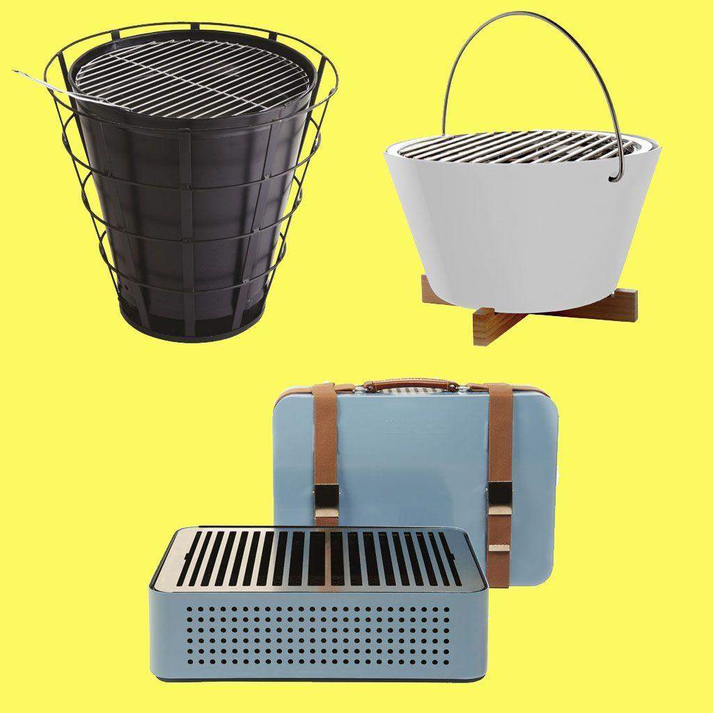 recherche petits barbecues pour grillades nomades elle d coration. Black Bedroom Furniture Sets. Home Design Ideas