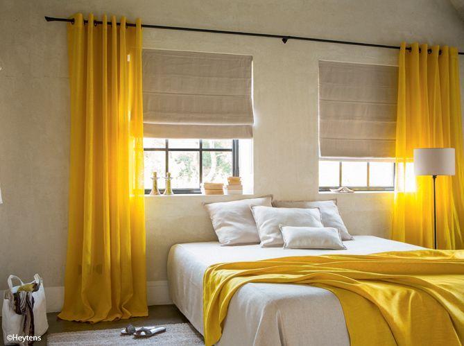 Id e d co une touche de couleur dans votre chambre - Couleur dans une chambre ...