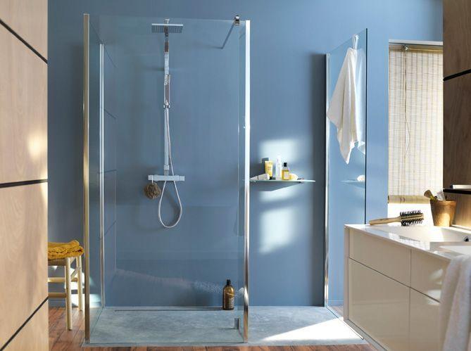 Succombez la tendance des douches l italienne elle for Decoration des douches