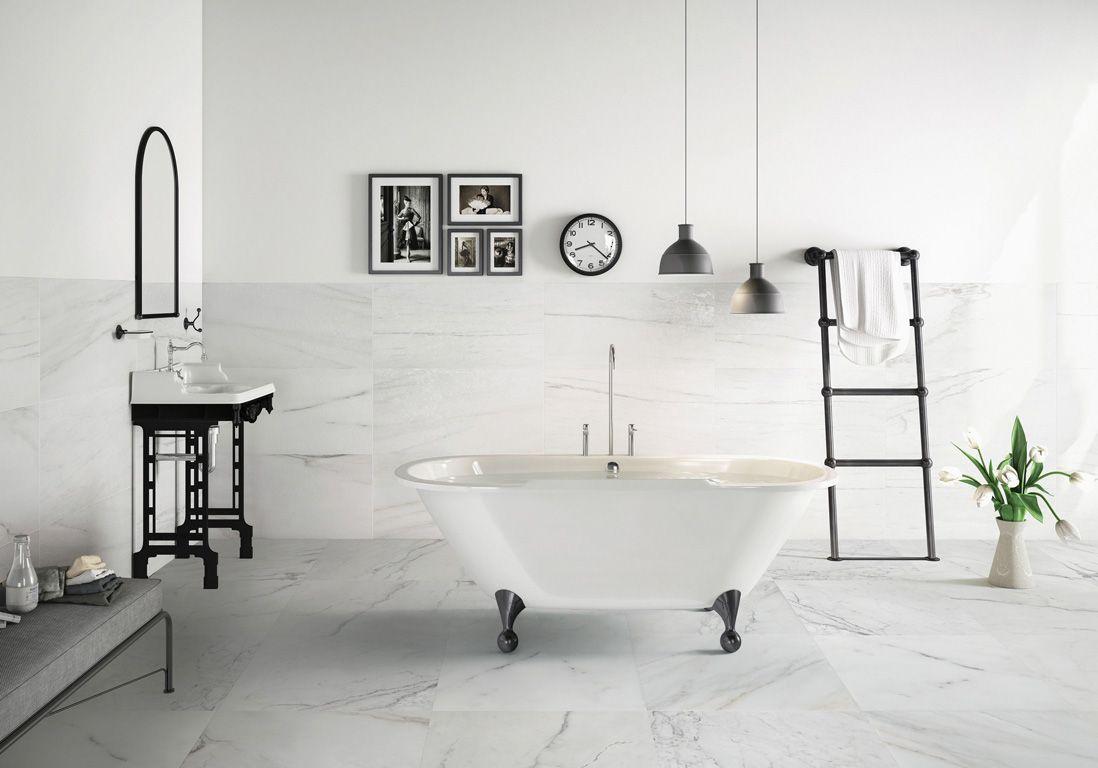 Salle de bains : 15 sols qui font la différence