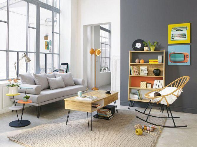 Idée déco : un peu de couleur dans votre salon !