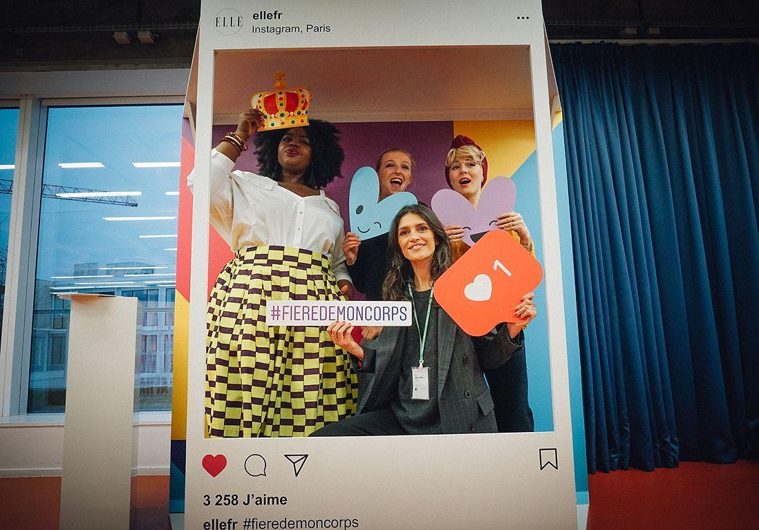 #Fieredemoncorps : revivez la soirée ELLE chez Instagram
