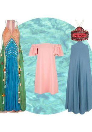Belles et sexy en robe de plage
