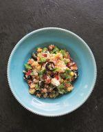 Salade solterito de quinoa