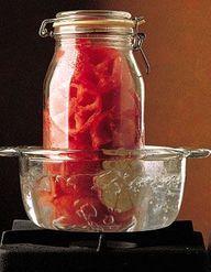conserve de poivrons grill s au vinaigre pour 4 personnes recettes elle table. Black Bedroom Furniture Sets. Home Design Ideas