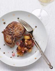 foie gras chutney de mangue et ananas pour 6 personnes recettes elle. Black Bedroom Furniture Sets. Home Design Ideas