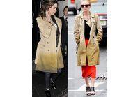 Le trench dégradé : Anne Hathaway vs Kate Bosworth