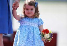 La princesse Charlotte prouve que la barrette est l'accessoire le plus mignon du moment