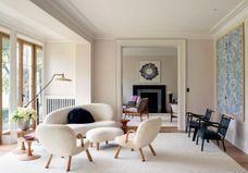 Entre luxe et années 50, poussez les portes de cette somptueuse maison londonienne