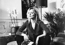 Kate Moss collabore avec Equipment