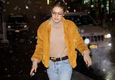 Monday inspiration : le look jaune de Gigi Hadid