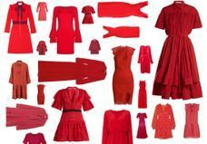30 robes rouges qui font monter la température