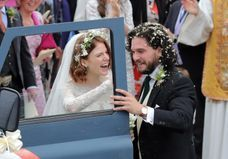 Game of Thrones : Kit Harington et Rose Leslie (Jon Snow et Ygritte) se sont mariés !