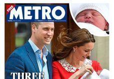 Royal baby : les unes de la presse britannique !