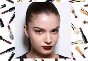 15 rouges à lèvres foncés faciles à porter