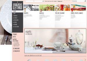 Geneviève Lethu ouvre sa e-boutique