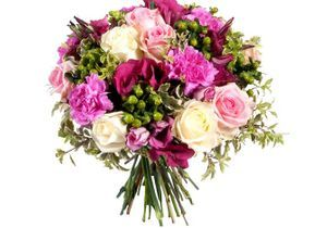 Comment réaliser un bouquet de fleurs rond ?