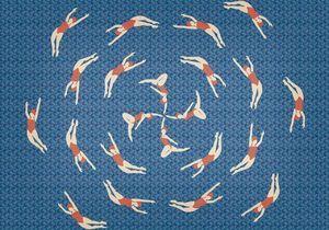 Tendance motif nageuse : ça baigne en déco !