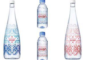 L'objet du jour : la nouvelle bouteille evian® x Christian Lacroix