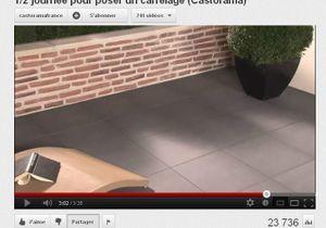 VIDEO Poser le carrelage de sa terrasse en une matinée
