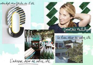 Les coups de cœur estivaux de Dorothée Meilichzon, architecte d'intérieur