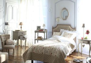 Campagne elle d coration for Chambre style gustavien