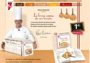 Retrouvez la bonne cuisine de nos terroirs avec Paul Bocuse