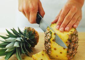 Comment découper un ananas ?