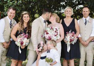 #Prêtàliker : cette Américaine de 4 ans attire tous les regards pendant le mariage de ses parents