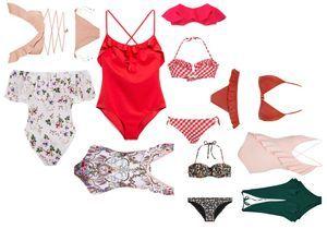 19 maillots de bain à volants pour un été brûlant
