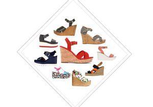 25 sandales compensées pour prendre l'été de haut