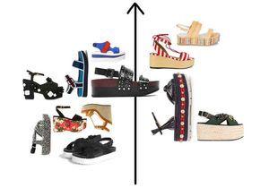 20 paires de sandales à plateforme pour prendre l'été de haut