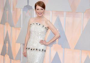 Oscars 2015 : la grande gagnante Julianne Moore brille en bijoux Chopard