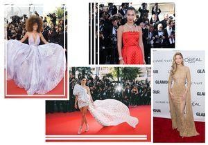 Les plus belles robes de l'année 2017 repérées sur les tapis rouges