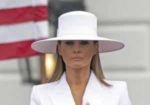Pleins phares sur les plus beaux looks de Melania Trump lors de la visite d'état du président Macron aux USA