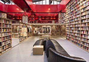 L'instant mode : les rayons de bibliothèque de la boutique Sonia Rykiel