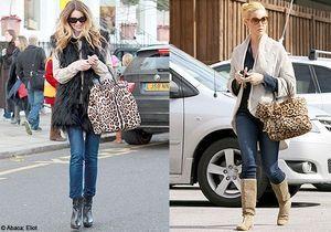 Match mode : le sac léopard de Katherine Heigl et d'Elle Macpherson