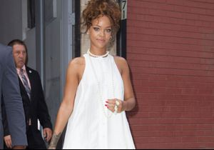 Rihanna fait une apparition à la Fashion Week de New York