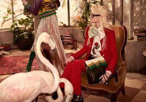 Gucci : une volière déjantée pour la campagne Pré-Fall 2016
