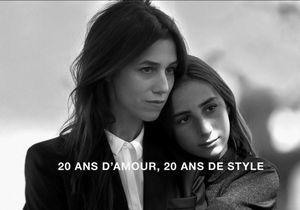 L'instant mode : les premières images de Charlotte Gainsbourg et de sa fille Alice pour Comptoir des Cotonniers