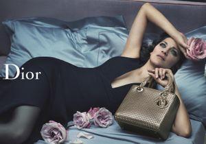 L'instant mode : Marion Cotillard, sensuelle pour la campagne Lady Dior