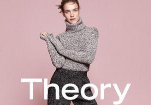 Natalia Vodianova fidèle à Theory pour sa nouvelle campagne automne-hiver 2015