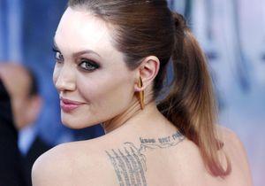 Angelina Jolie et Brad Pitt s'étaient fait tatouer leur amour juste avant de divorcer (dommage !)