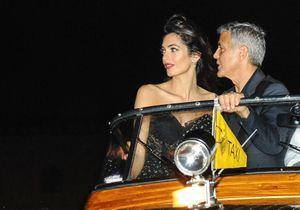 George et Amal Clooney : les amoureux de Venise