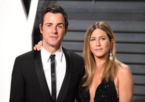 Jennifer Aniston : Justin Theroux aurait retrouvé des mots d'amour de Brad Pitt