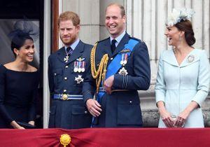 Kate, William, Harry et Meghan de sortie pour le centenaire de la Royal Air Force