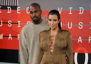 Kim Kardashian et Kanye West, parents d'un petit garçon