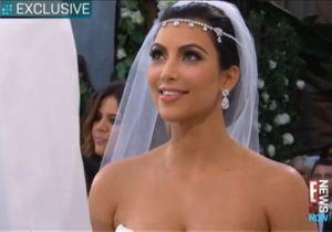 Kim Kardashian : la vidéo de son mariage !