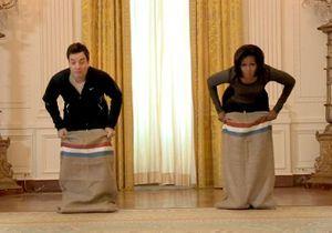 Michelle Obama se lâche à la Maison blanche