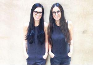 Rumer Willis et Demi Moore, comme des jumelles